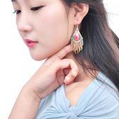 民族風流蘇耳環波西米亞耳墜韓版耳飾