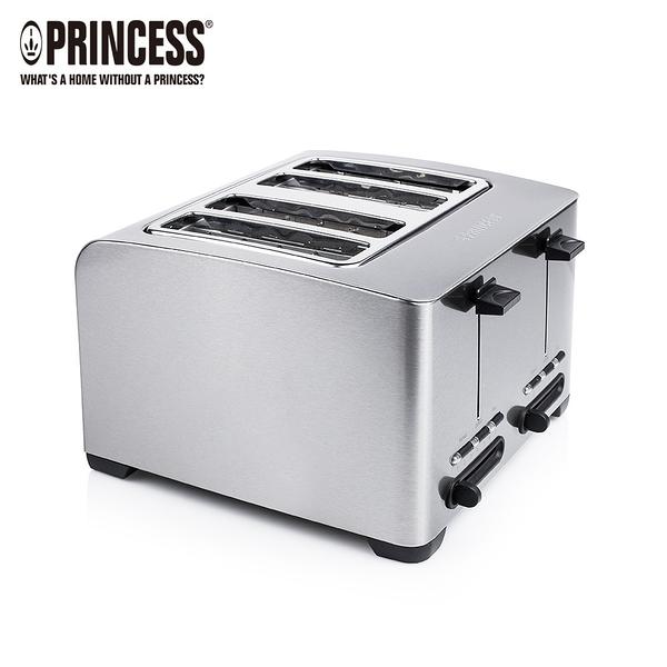 【荷蘭公主 PRINCESS】不鏽鋼四片烤麵包機 142397