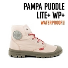 【南紡購物中心】【PALLADIUM】PAMPA PUDDLE LITE+WP 撞色系列-輕量雨傘布防水靴 / 粉紅 女鞋