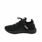 PUMA SOFTRIDE VITAL FEMME 女款黑色襪套式慢跑鞋-NO.19370702