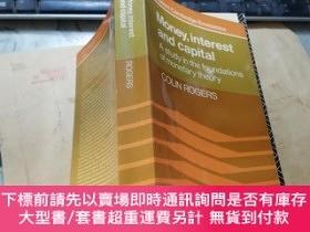 二手書博民逛書店Money,interest罕見and capital A study in the foundations of