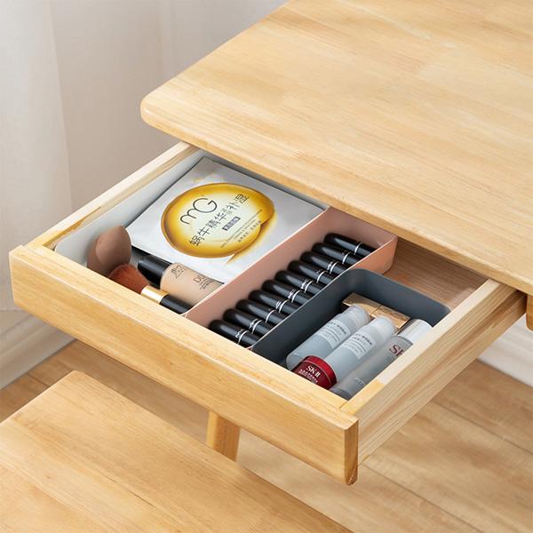 【BlueCat】多功能簡約抽屜整理收納盒 (大) 分隔 桌面收納