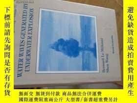 二手書博民逛書店B0078精裝water罕見waves generated by