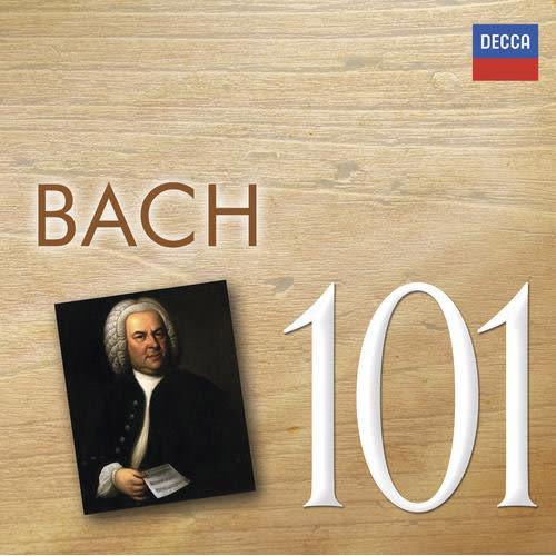 巴哈名曲101 6片CD裝 Bach 101 雷帕德馬利納席夫慕辛格蕭提 音樂