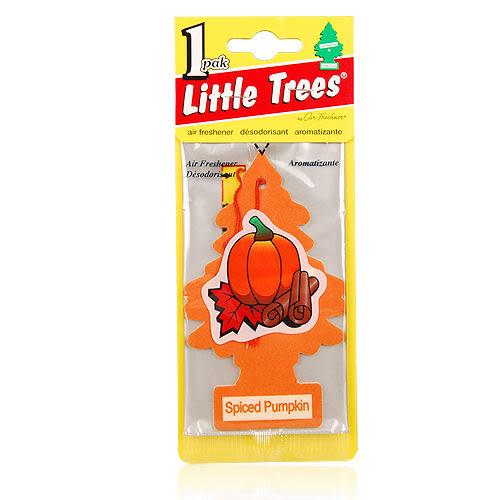 LITTLE TREES 美國小樹香片-南瓜風味Spiced Pumpkin(10g)【美麗購】