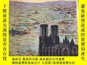 二手書博民逛書店【民國歐美書28】1921年歐洲出版《VISIT罕見TO THE