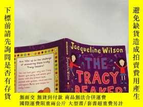 二手書博民逛書店the罕見tracy beaker quiz book 特蕾西燒杯測驗本Y200392