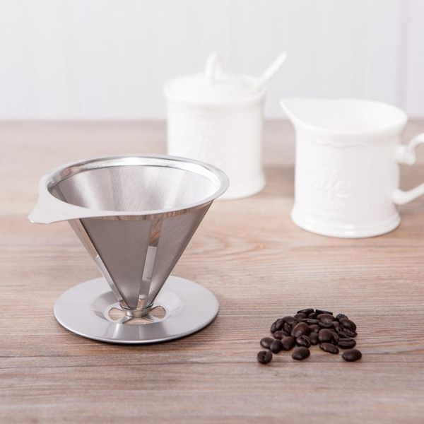 Drip不鏽鋼304咖啡濾杯-生活工場
