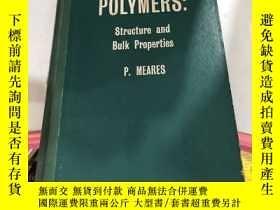 二手書博民逛書店POLYMERS Structure罕見and Bulk Pro