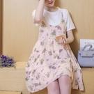 漂亮小媽咪 細肩帶吊帶裙 【D6060】...
