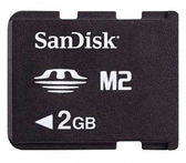 ▼Sandisk M2 2G記憶卡Memory Stick Micro 2GB 記憶卡 保固三個月