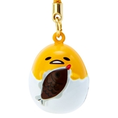 【震撼精品百貨】蛋黃哥Gudetama~三麗鷗蛋黃哥造型鈴鐺吊飾*76030
