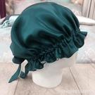 頭巾帽 瑞帛匯 100%桑蠶絲真絲睡帽月子帽產后護發居家養發空調帽可調節 星河光年