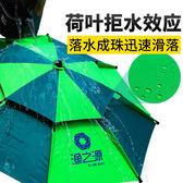 全館79折-漁之源 釣魚傘雨傘2.4米萬向防雨戶外魚傘垂釣遮陽傘漁具地插釣傘   WY
