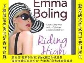 二手書博民逛書店英語小說罕見Riding High   Emma Boling(