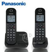 《一打就通》Panasonic國際牌 DECT數位式中文無線雙子電話 KX-TGC282 TWB ∥1.6吋背光螢幕∥免持聽筒 ∥
