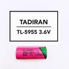 全館免運費【電池天地】TADIRAN TL-5955  2/3AA 3.6V一次性鋰電池