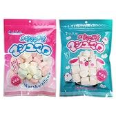 小豆苗 彩心棉花糖/大筒狀特白棉花糖(110g) 款式可選【小三美日】
