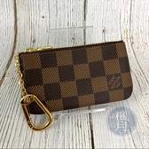 BRAND楓月 LOUIS VUITTON LV N62658 棋盤格 拉鍊 小零錢包