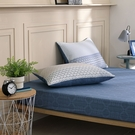 鴻宇 雙人特大床包組 100%精梳純棉 特調藍 台灣製C20107