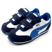 《7+1童鞋》小童 PUMA Whirlwind L V inf 輕量 透氣 運動鞋 8233  藍色