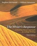 二手書博民逛書店《The Writer s Response: A Reading-based Approach to College Writing》 R2Y ISBN:0838407765