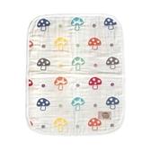【日本 Hoppetta】日本製六層紗蘑菇被/ 寶寶毯 / 寶寶被 / 嬰兒毯 / 嬰兒被(S)