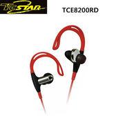 T.c.star 連鈺 紅色防水運動型無線藍牙耳機麥克風 TCE8200RD