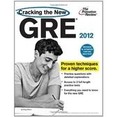 (二手書)Cracking the New GRE 2012