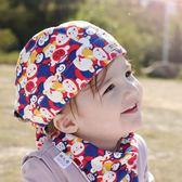 【雙十二】狂歡嬰兒帽子春秋夏季薄款0-3個月新生兒6兒童頭巾海盜帽男寶寶韓版   易貨居