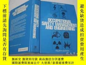 二手書博民逛書店OCCUPATIONAL罕見SAFETY MANAGEMENT AND ENGINEERINGY205889