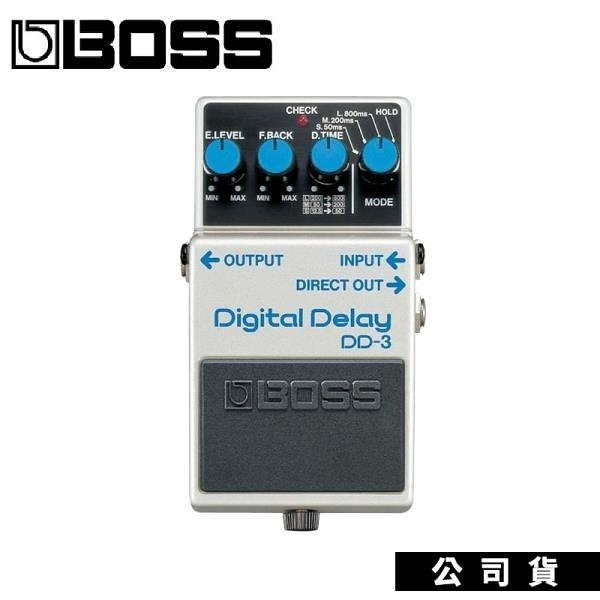 【南紡購物中心】公司貨 效果器 BOSS DD-3 Digital Delay 數位延遲