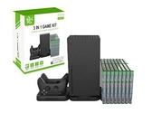 [哈GAME族]免運費 可刷卡 適用於Xbox Series X KJH XSX-008 三合一充電收納架 主機收納組