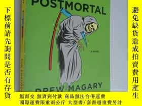 二手書博民逛書店DREW罕見MAGARY:The postmortal