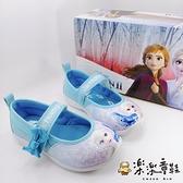 【樂樂童鞋】台灣製冰雪奇緣2休閒鞋-藍色 F060 - 女童鞋 休閒鞋 大童鞋 公主鞋 娃娃鞋 室內鞋 布鞋