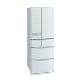 三菱6門525公升冰箱絹絲白MR-JX53C-W-C