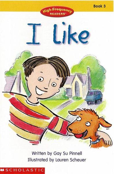 High-Frequency Readers Book(3):I Like