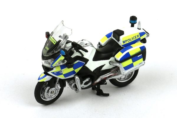 Poco+玩具部 全新 微影 微影 TINY 香港合金車 87 香港警察 BMW 寶馬 電單車 機車