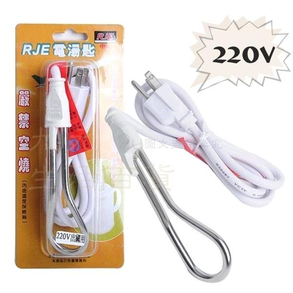 【九元生活百貨】RJE 200V電湯匙/500W 出國用電湯匙 加熱 煮水