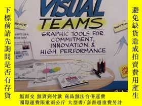 二手書博民逛書店Visual罕見Teams : Graphic Tools for Commitment, Innovation,
