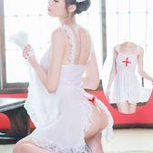 性感蕾絲吊帶護士裝情趣內衣激情套裝sm騷透視裝制服誘惑小胸用品 巴黎时尚生活