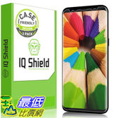[107美國直購] 保護膜 Galaxy S8 Screen Protector, IQ Shield LiQuidSkin Full Coverage Screen Protector