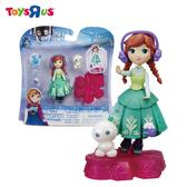 玩具反斗城 【Hasbro 孩之寶】冰雪奇緣迷你公主小雪人旋轉組