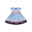 mothercare 藍色海港風短袖洋裝...