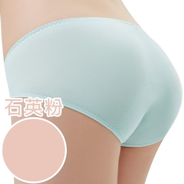 思薇爾 森林小兔輕甜風系列M-XXL日用低腰生理褲(石英粉)