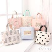 【日貨動物手提袋M號 P5貓咪系列】Norns Friendshill 帆布袋 便當袋 購物袋 小托特包 日本雜貨 Neko manju