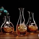 玻璃酒壺冰酒器無鉛玻璃日式清酒壺玻璃清酒壺分酒器分酒壺拇指壺冰酒壺