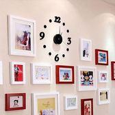 限定款挂钟創意時尚亞克力數字DIY掛鐘客廳靜音掛表簡約時鐘裝飾鐘表