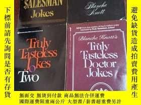 二手書博民逛書店Truly罕見Tasteless Jokes+Truly Tas
