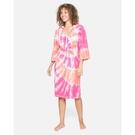 Hurley W HELLO KITTY CHANGING TOWEL海灘罩衫-粉(浴巾衣)